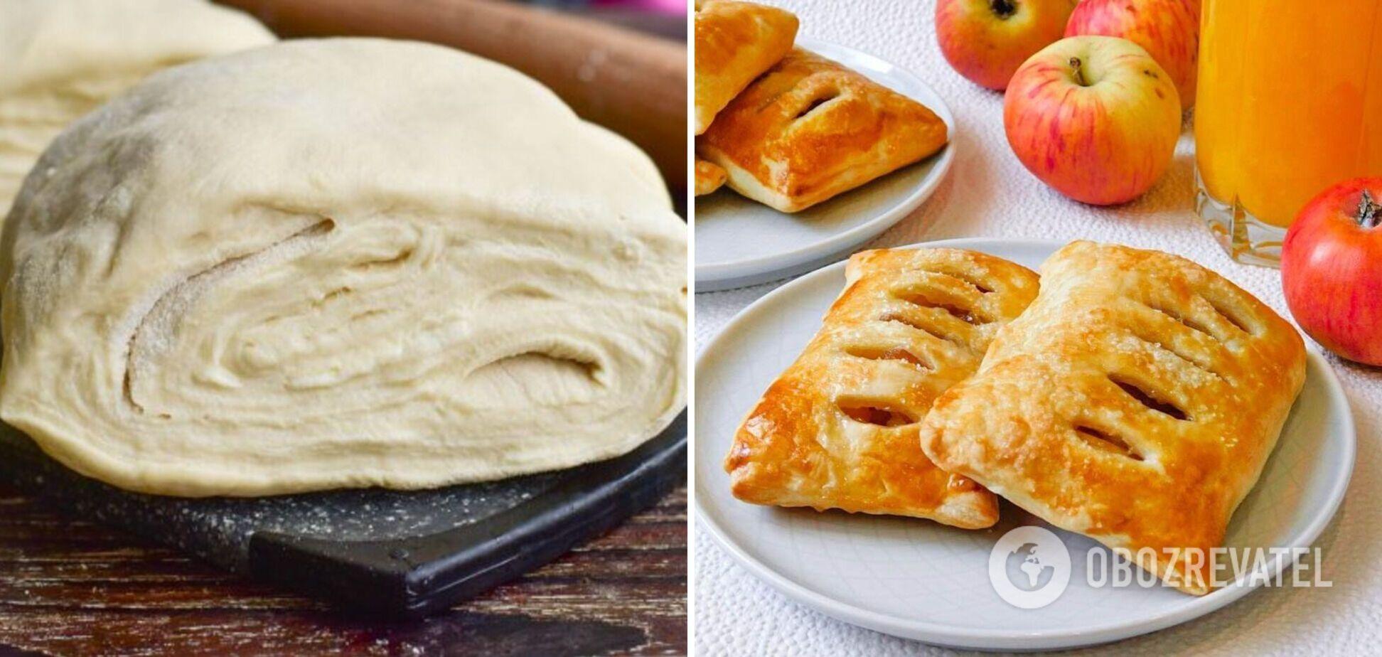 Как дома приготовить слоеное тесто