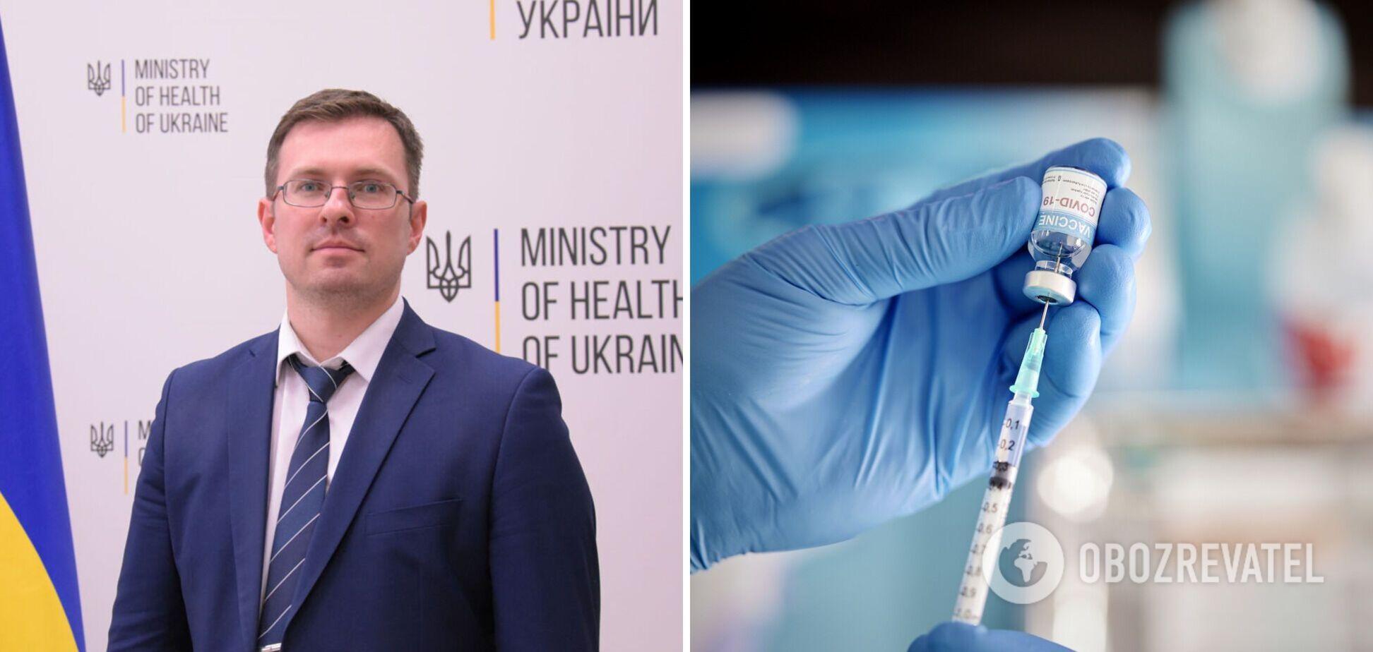 Ігор Кузін розповів про плани щодо вакцинації в Україні