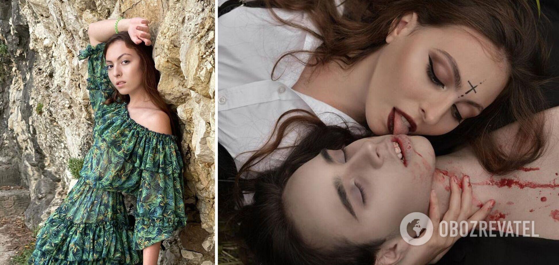 16-річна Маша Полякова пристрасно поцілувалася з хлопцем на камеру. Відео
