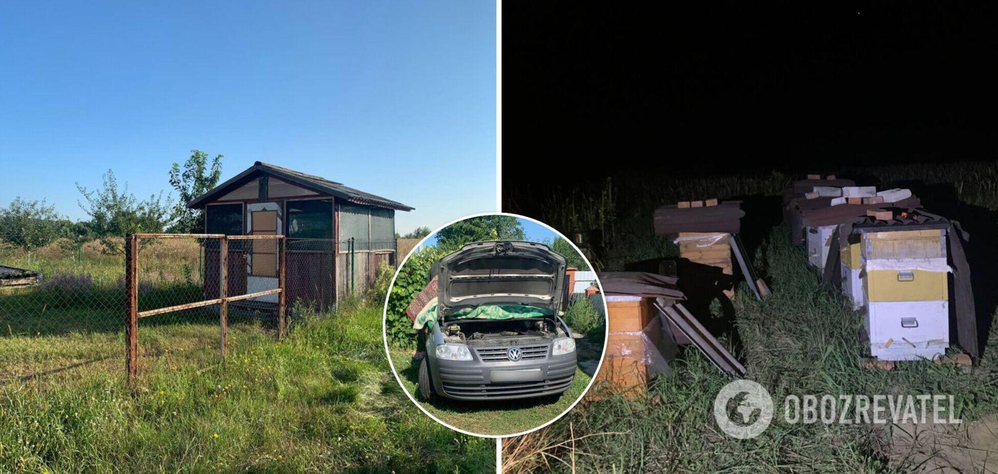 Злоумышленники успели продать автомагнитолу из угнанной машины
