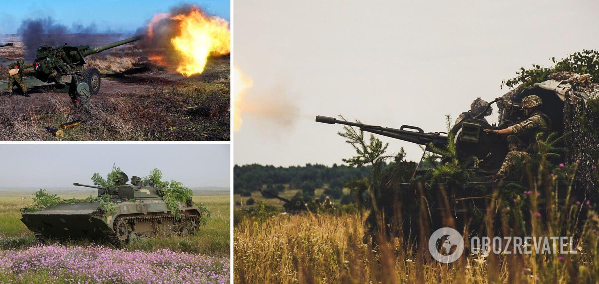 Война на Донбассе 2021