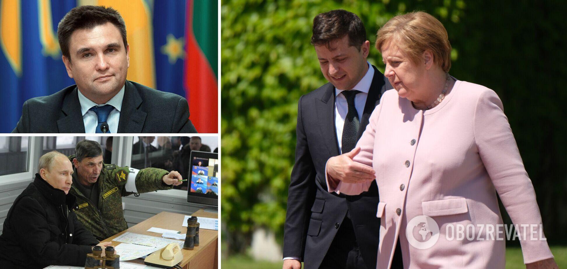 Зустріч із Меркель становить загрозу? Клімкін розкрив нову небезпеку для України. Ексклюзив