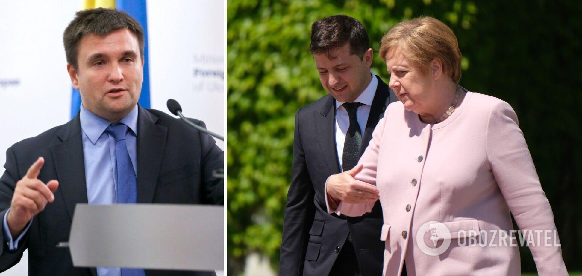Зустріч Зеленського з Меркель небезпечна, – Клімкін