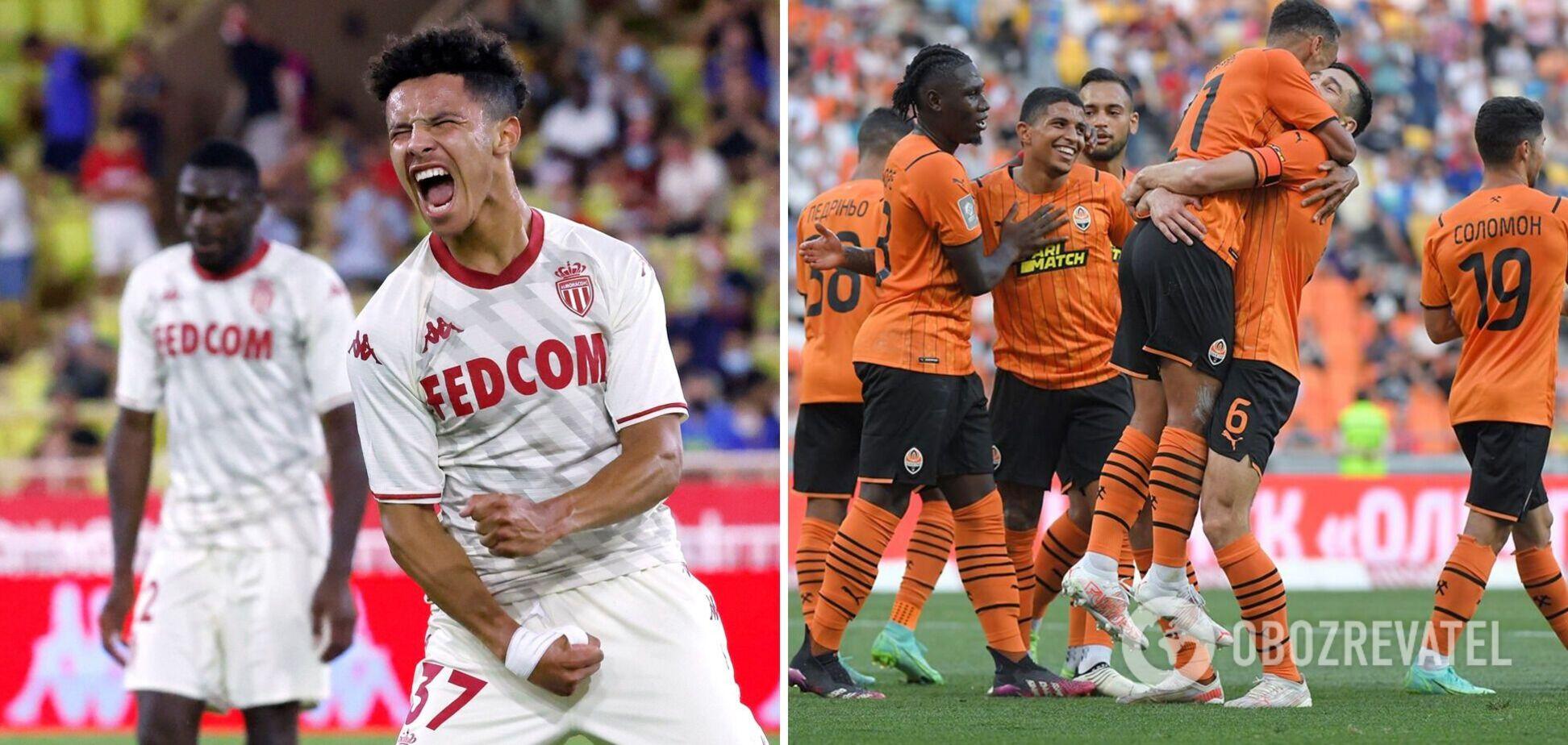 Монако Шахтар прогноз на матч 17 08 2021