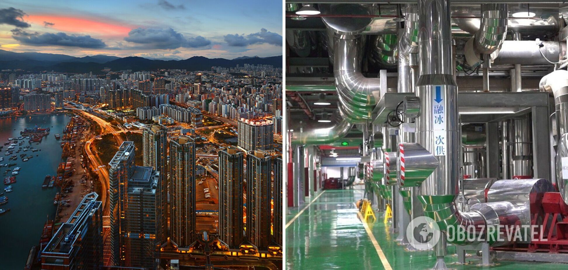 У Китаї будують величезний кондиціонер, який охолоджуватиме частину міста