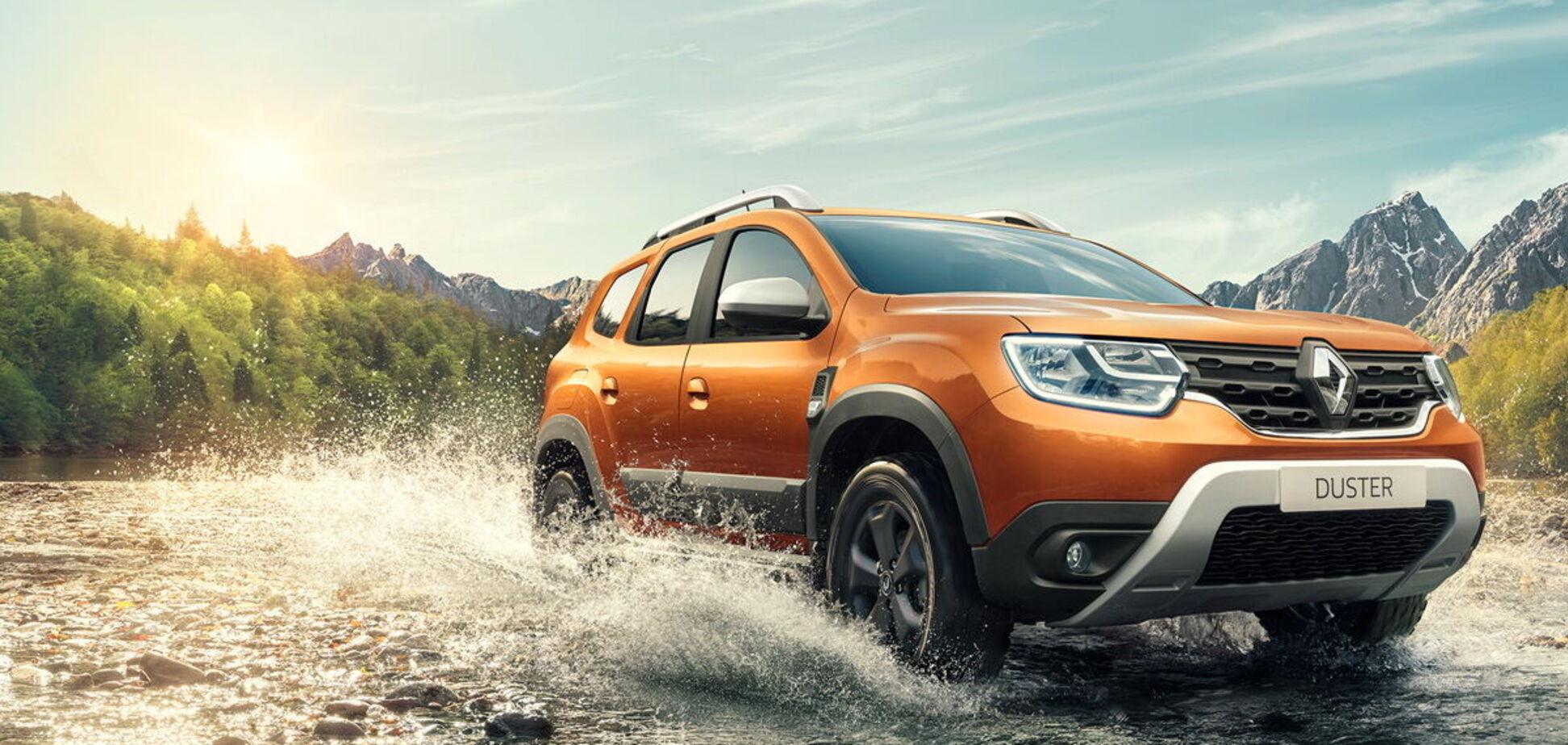 Оновлений Renault Duster представили в Україні