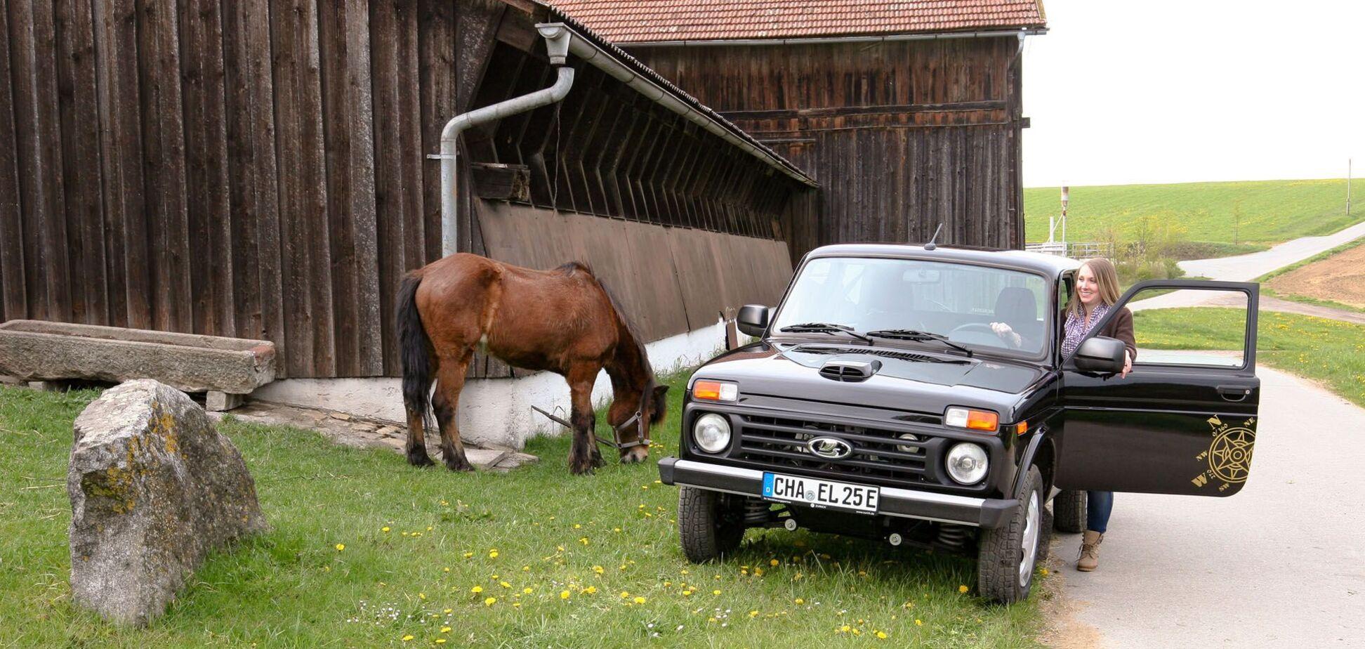 У Німеччині Lada Niva перетворили на електромобіль