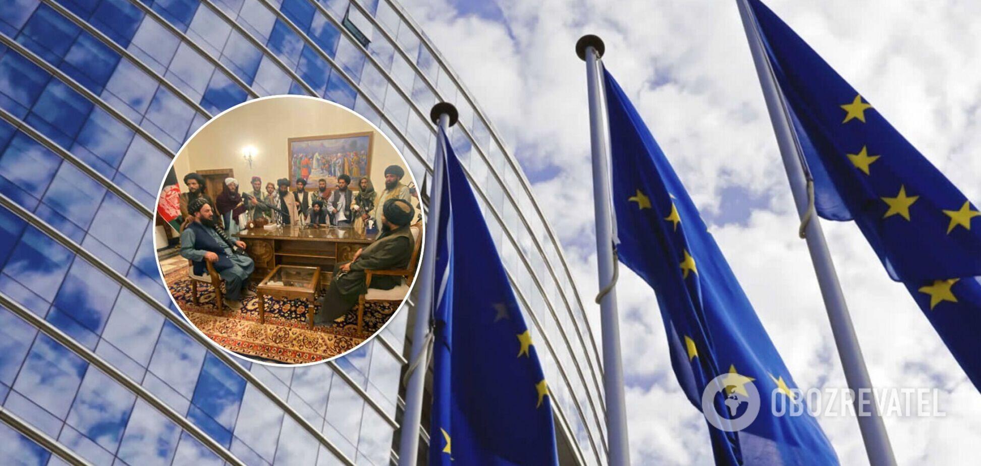 В ЕС прокомментировали официальные отношения с талибами в Афганистане