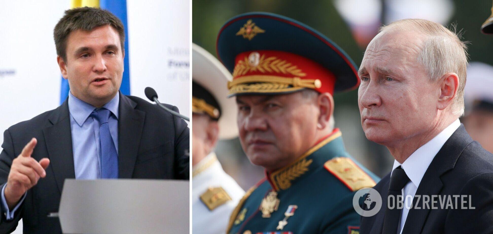 Путін має план щодо України, Зеленському час діяти, – Клімкін