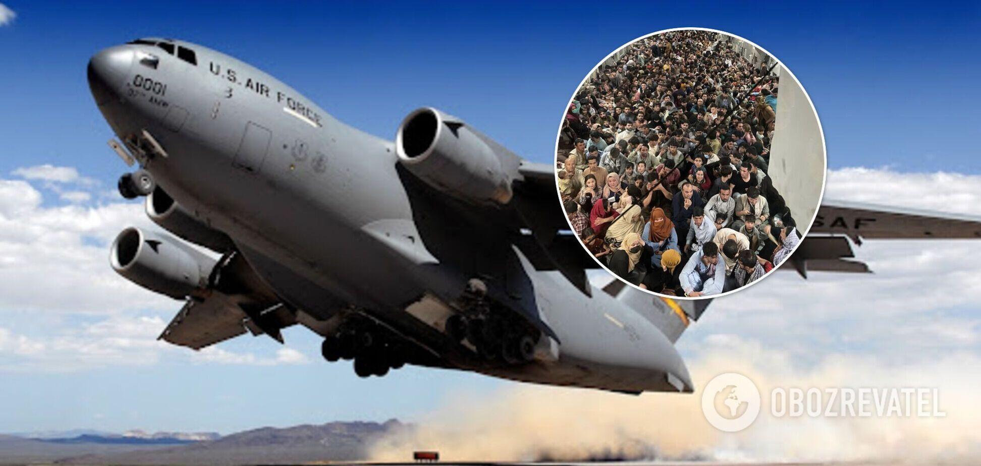 Літаком Boeing C-17 евакуювали 640 осіб з Афганістану