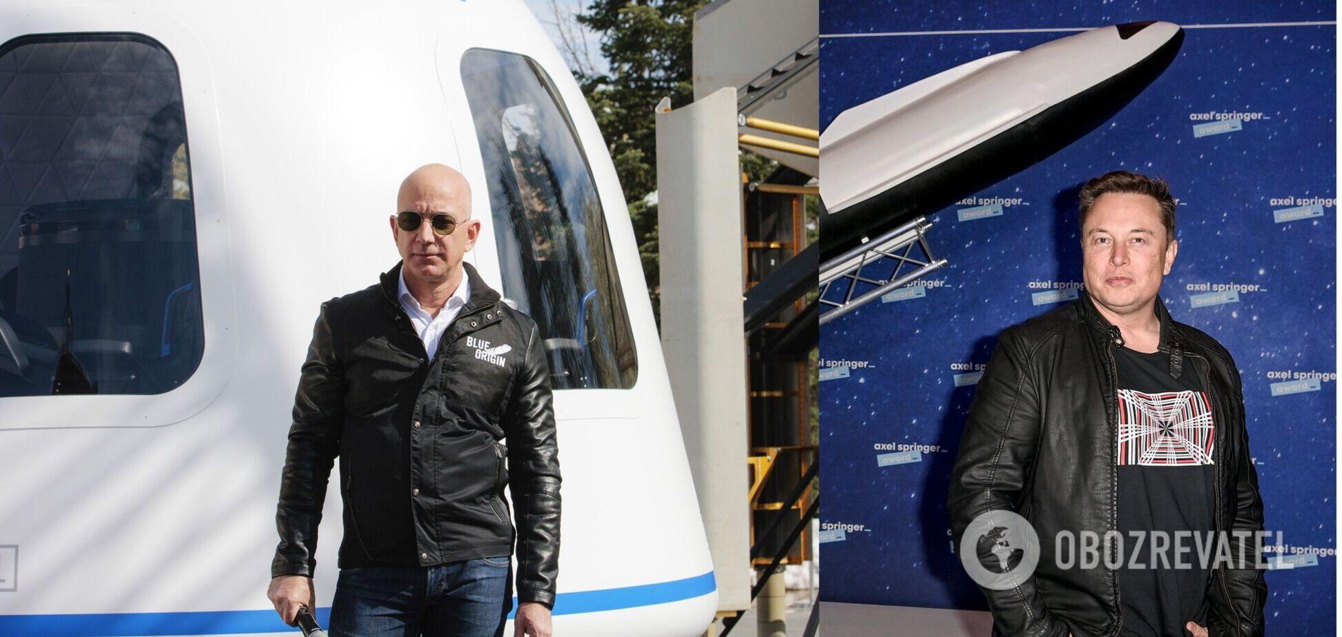 Blue Origin конкурувала з компанією SpaceX