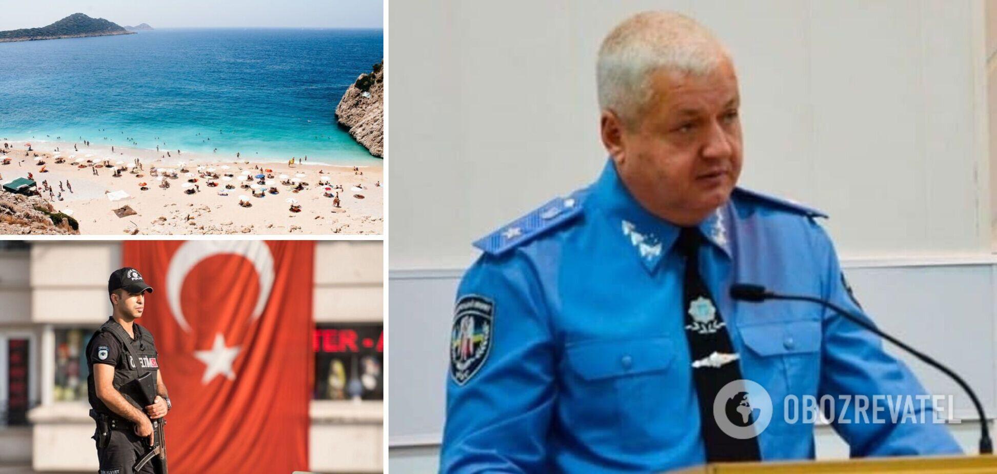 У Туреччині під час відпочинку помер колишній начальник поліції Дніпропетровської області Глуховеря