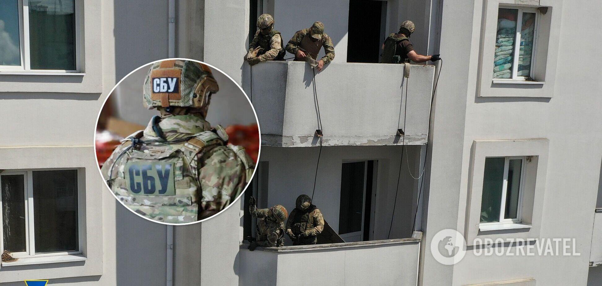 В Умані провели масштабні антитерористичні навчання: спецназівці 'штурмували' готель. фото