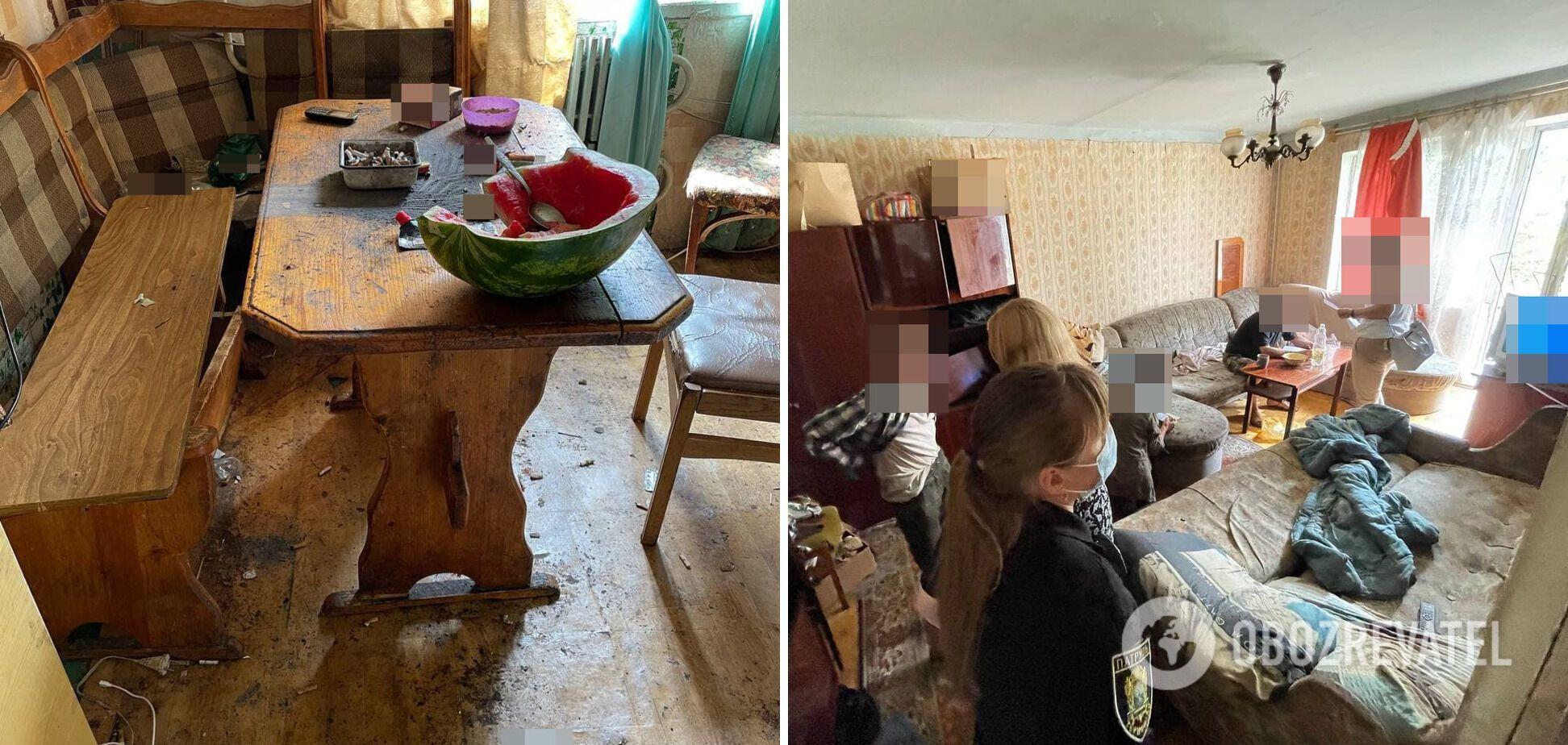 Ничего не ел два дня: на Тернопольщине спасли ребенка, за которым не ухаживал отец. Фото