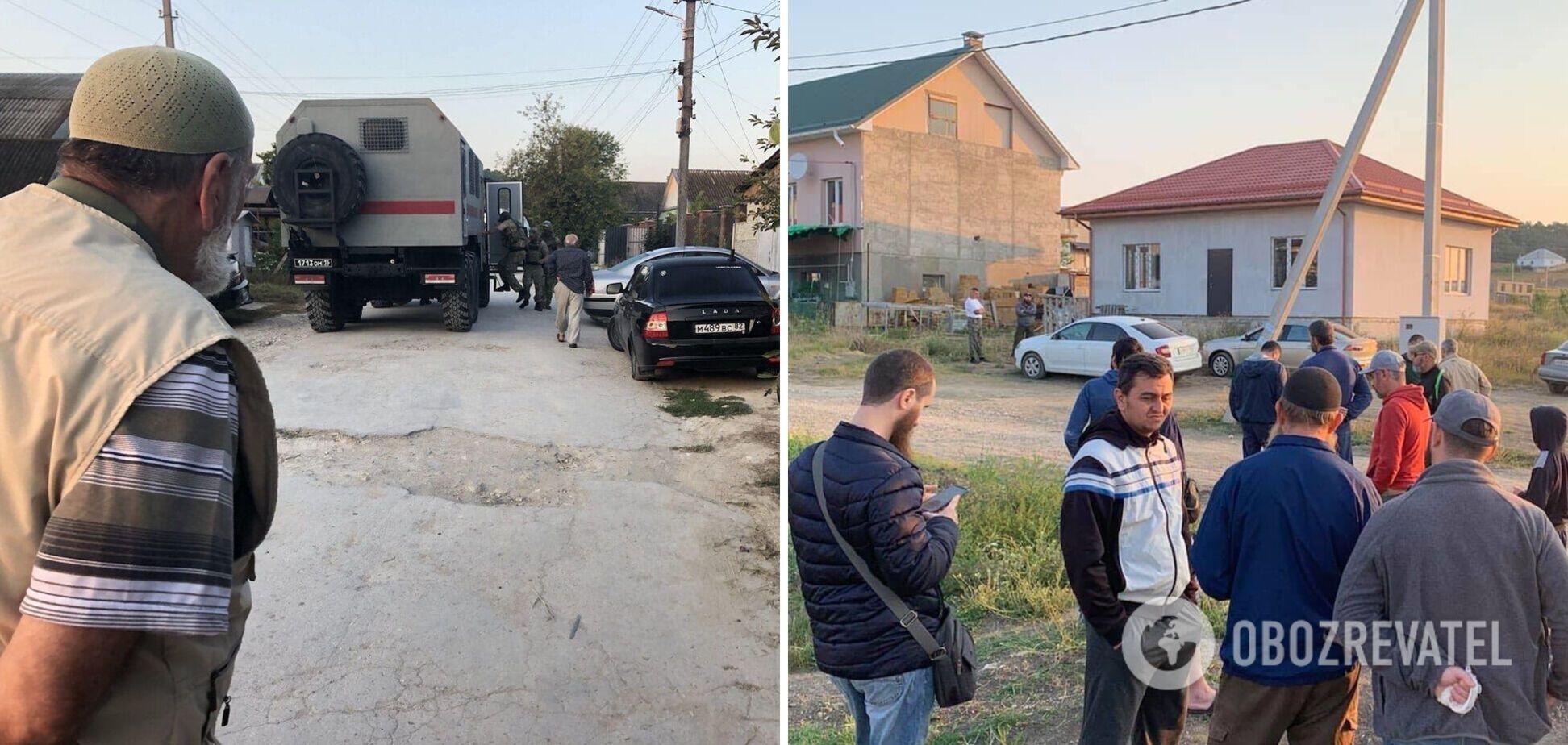 В Крыму устроили обыски в домах крымских татар: Зеленский призвал прекратить преследования
