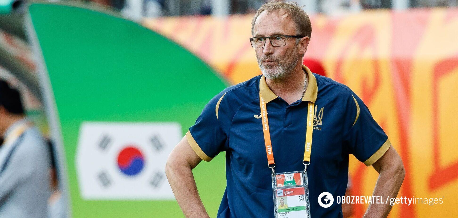 Петраков підписав контракт зі збірною України й представив тренерський штаб