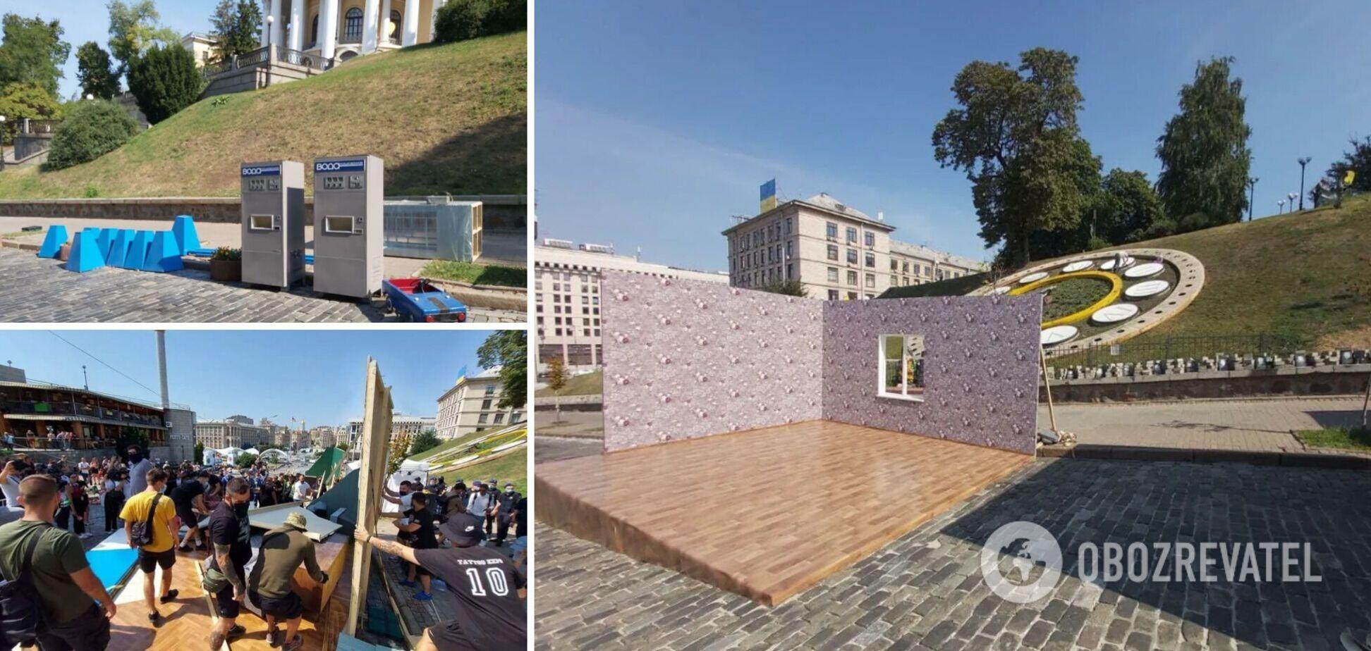Музей Майдана – о скандальной инсталляции в Киеве: организаторы официально нас не уведомляли