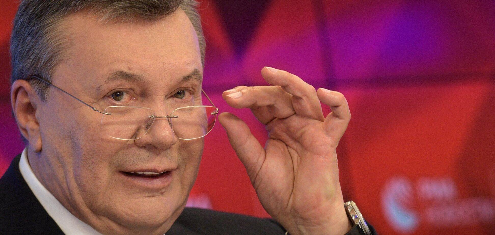 Янукович сказал, что привело к войне на Донбассе