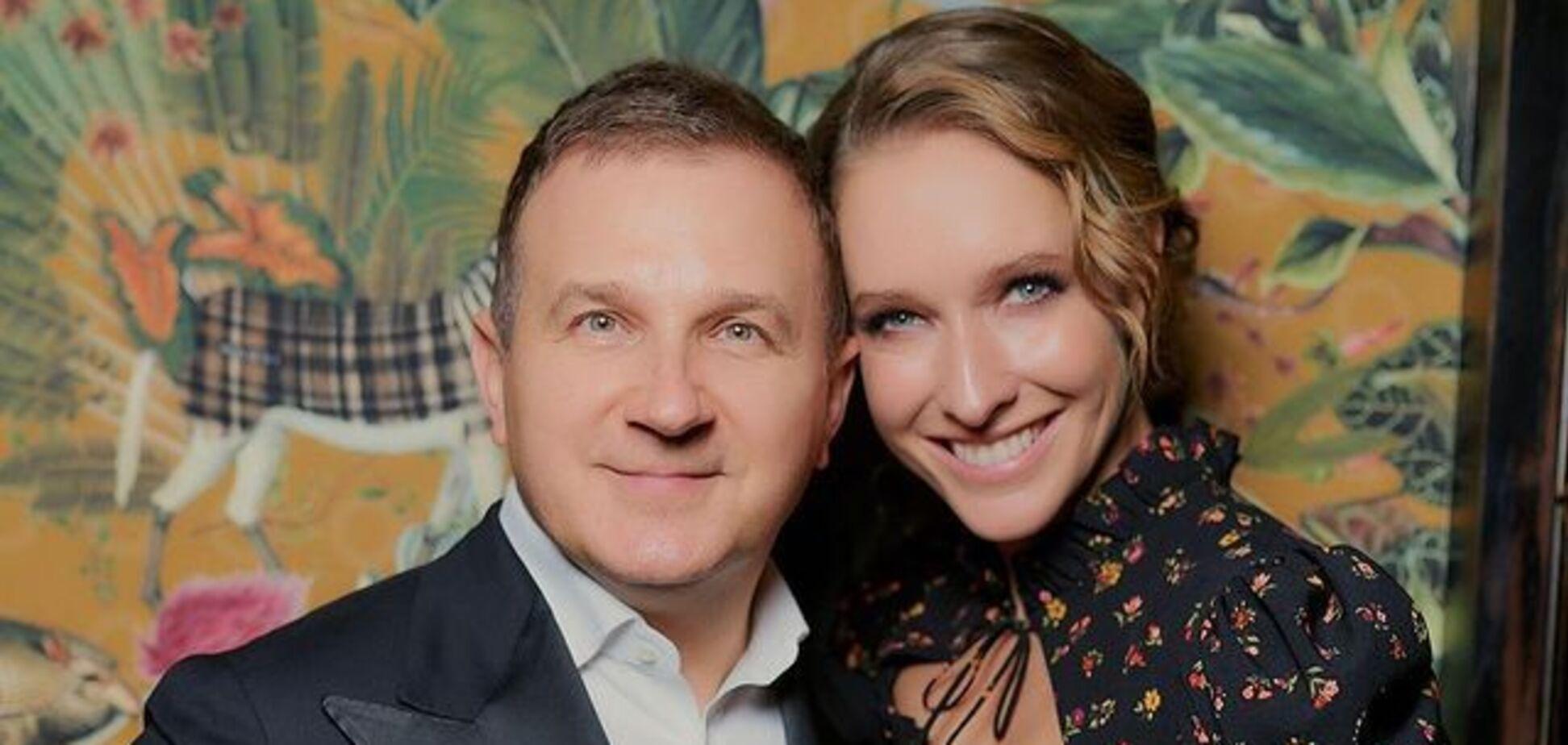 Беременная Осадчая и Горбунов появились на публике в стильных луках. Фото