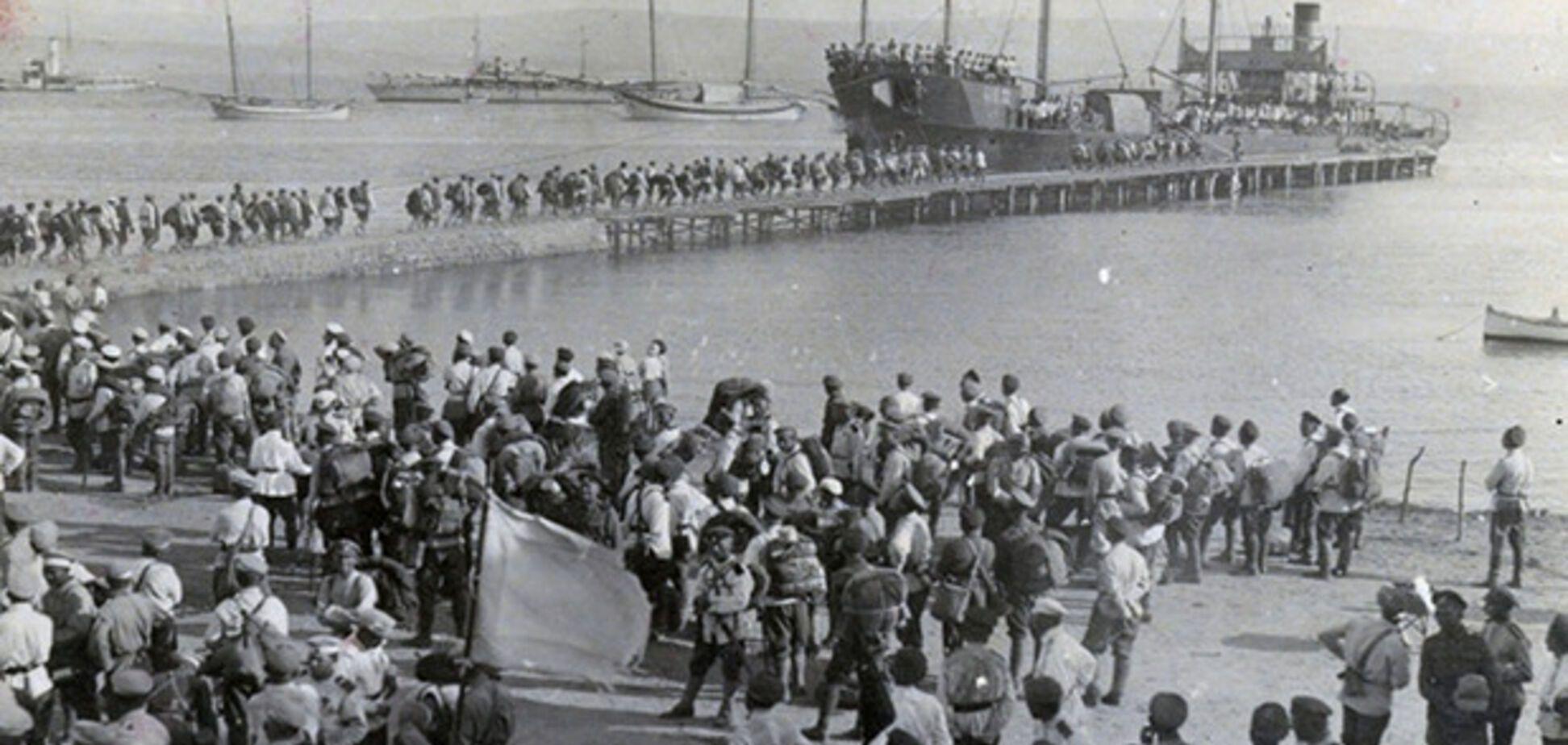 Евакуація з Криму, листопад 1920 року