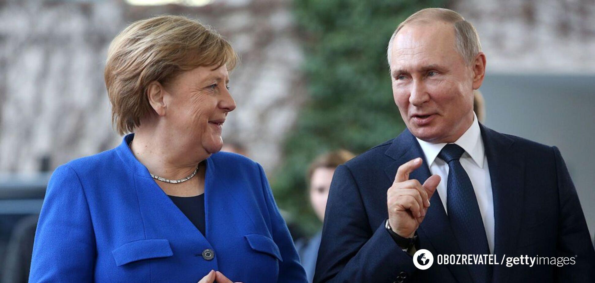Меркель и Путин на переговорах затронут темы Украины и Афганистана