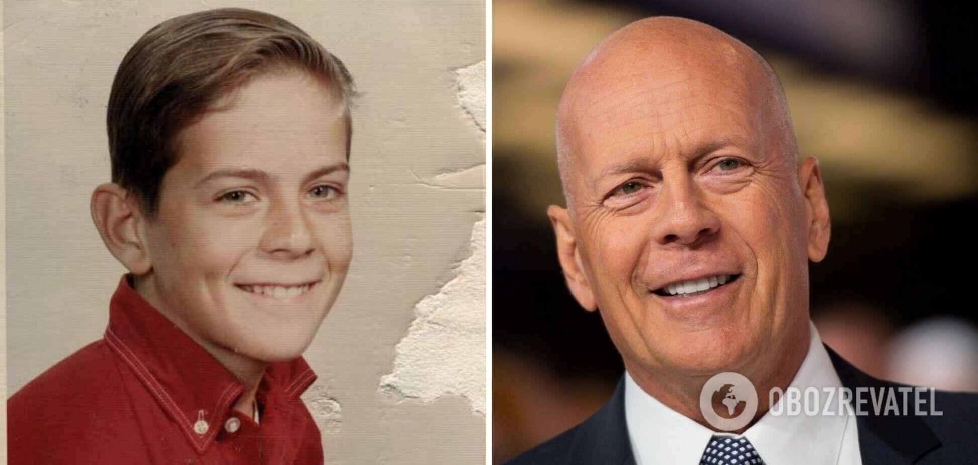 Як змінювався Брюс Вілліс: фото зірки протягом кар'єри