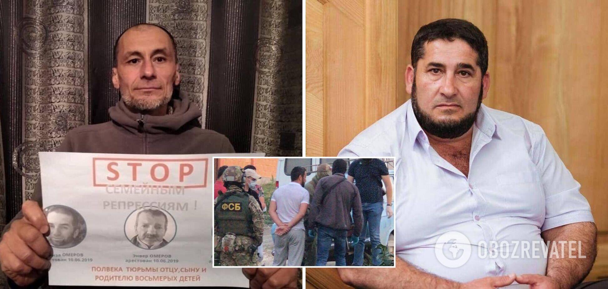Оккупанты в Крыму арестовали задержанных накануне крымских татар. Фото