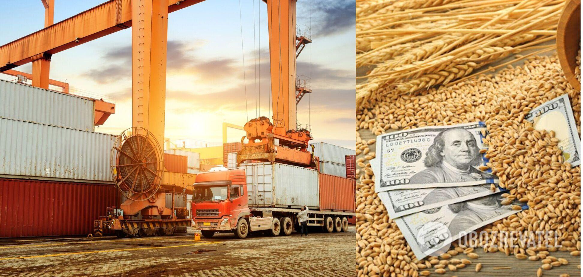 Подорожание украинского экспорта способствовало наполнению бюджета