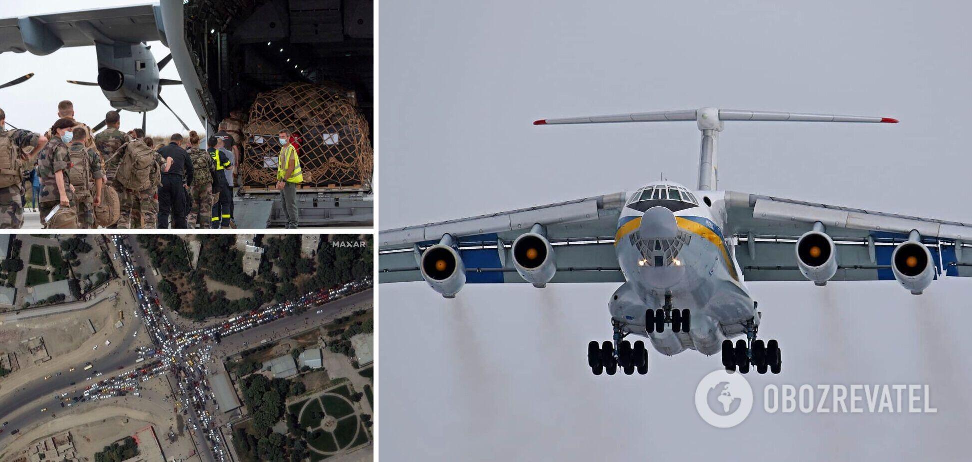 Україна відправила літак до Афганістану для евакуації громадян. Ексклюзивні подробиці