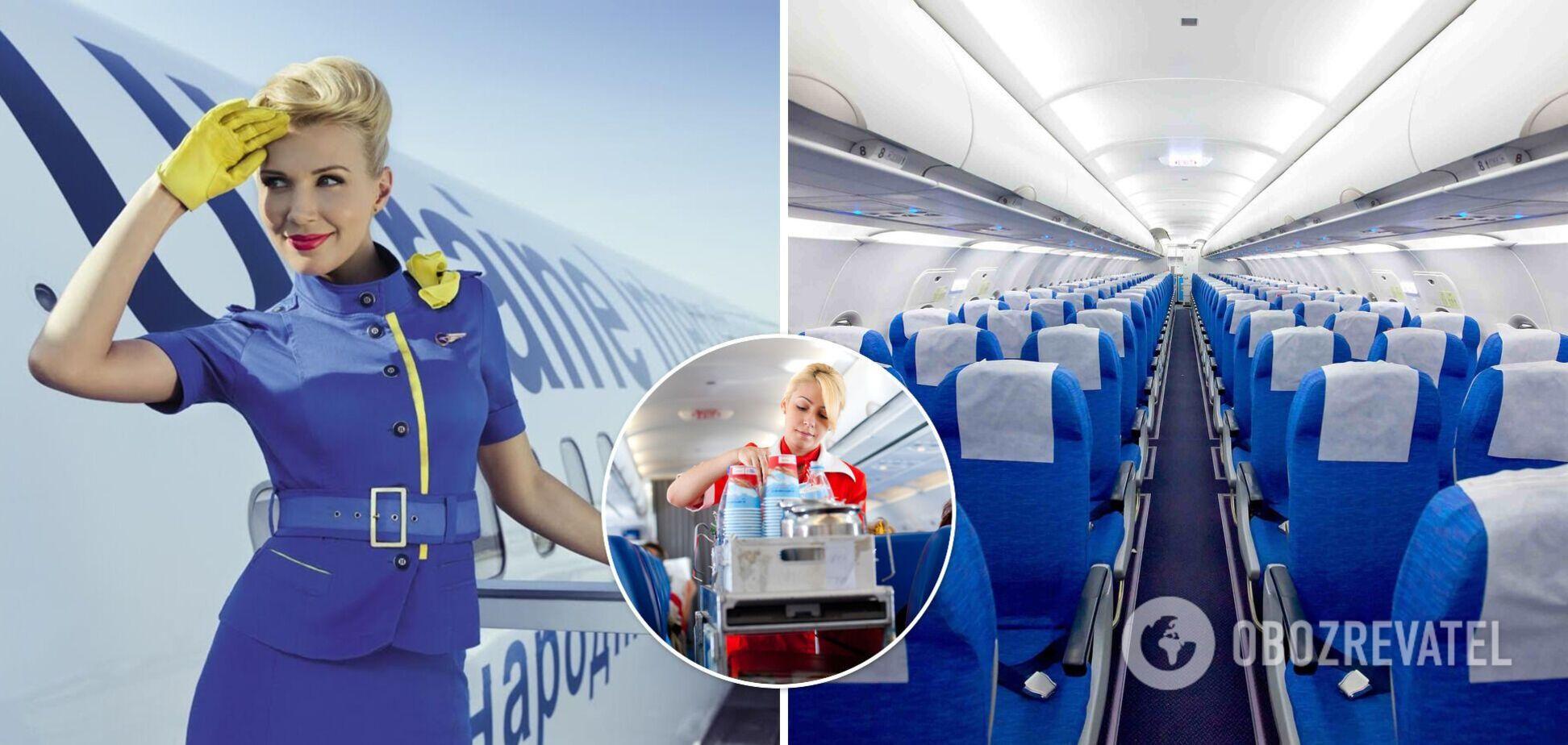 10 незручних запитань, які пасажири соромляться поставити стюардесі або стюардові