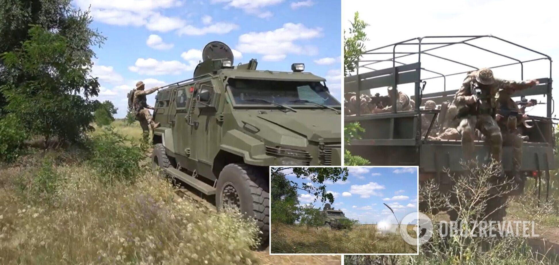 Тренувалися вдень і вночі: на Херсонщині пройшли навчання Сил спецоперацій ЗСУ. Фото і відео