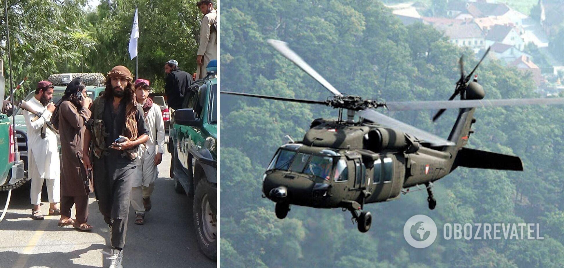 Талибы захватили военную технику США