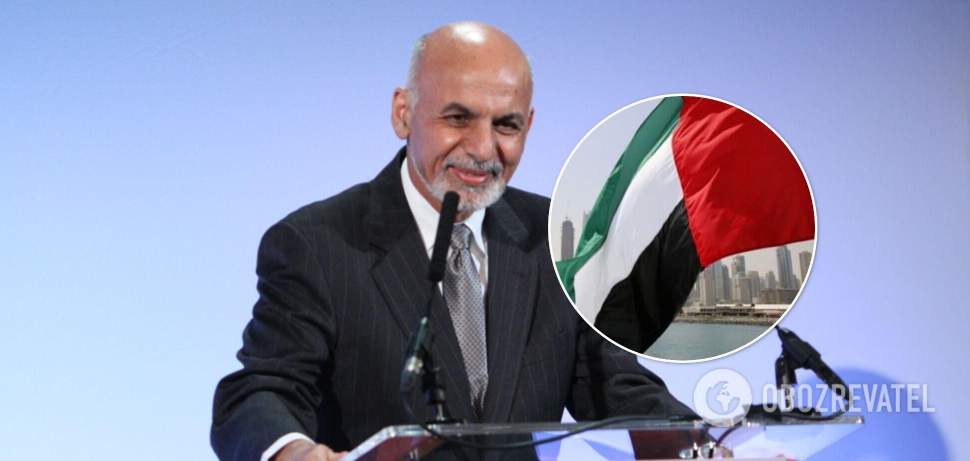 Президент Афганістану отримав притулок в ОАЕ і звернувся до нації. Відео