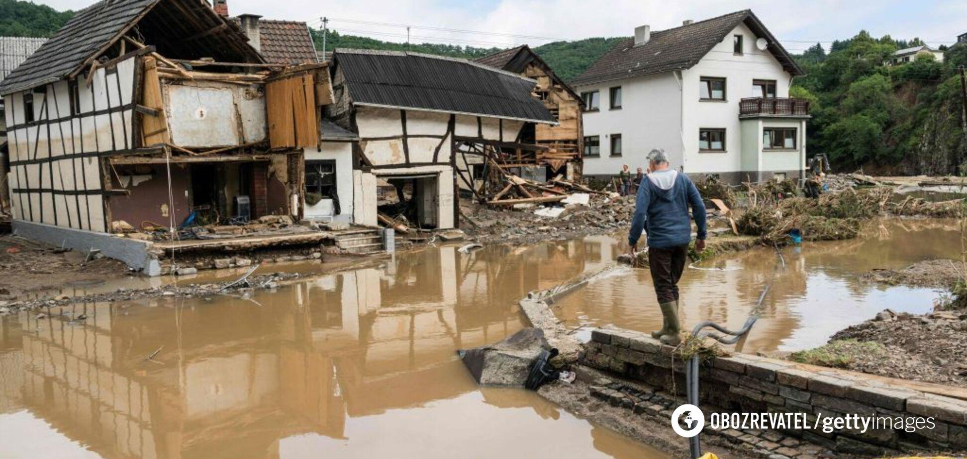 В Германии после наводнений обнаружили 350 килограммов боеприпасов времен Второй мировой войны. Фото