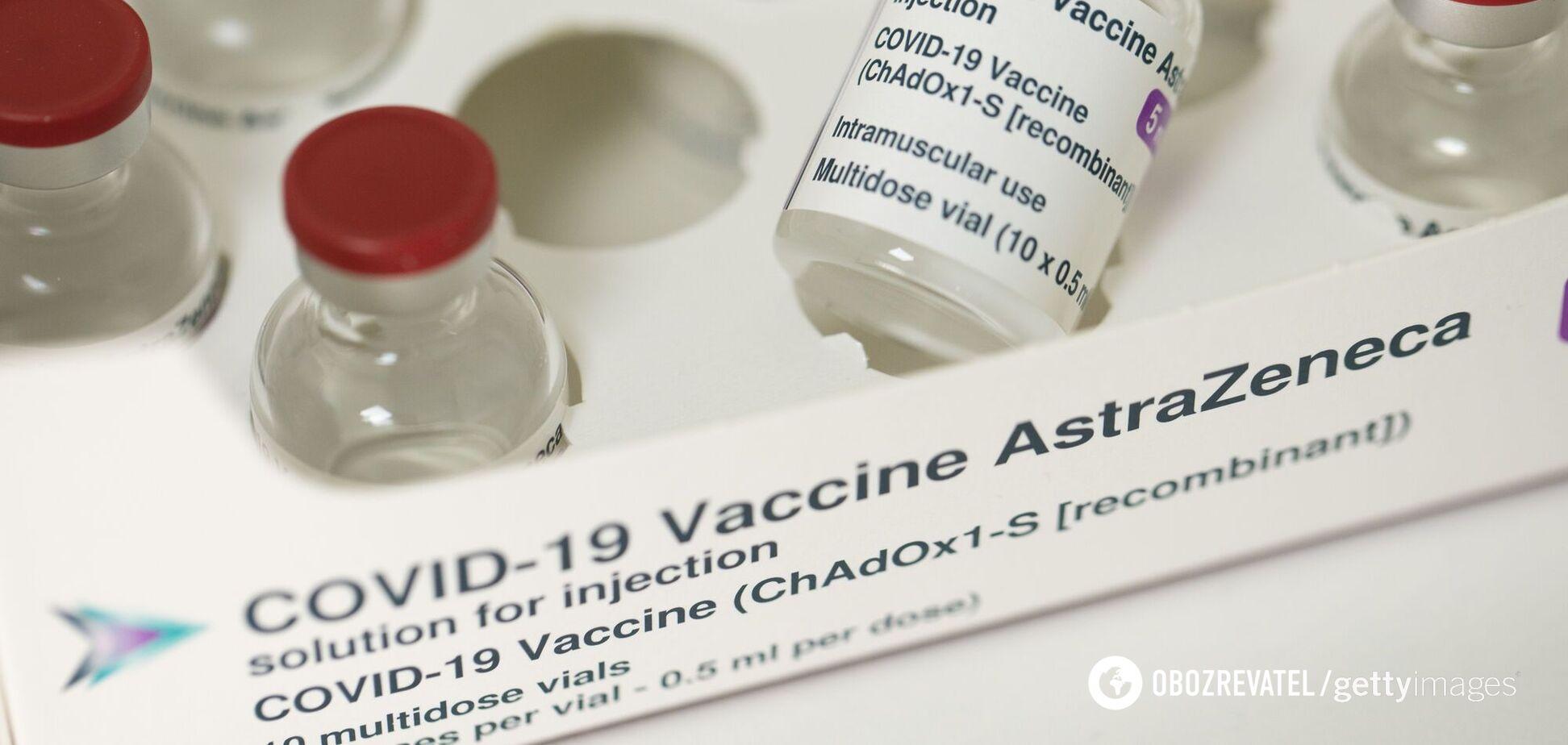 Литва відправила в Україну 46 тис. доз вакцини від коронавірусу AstraZeneca