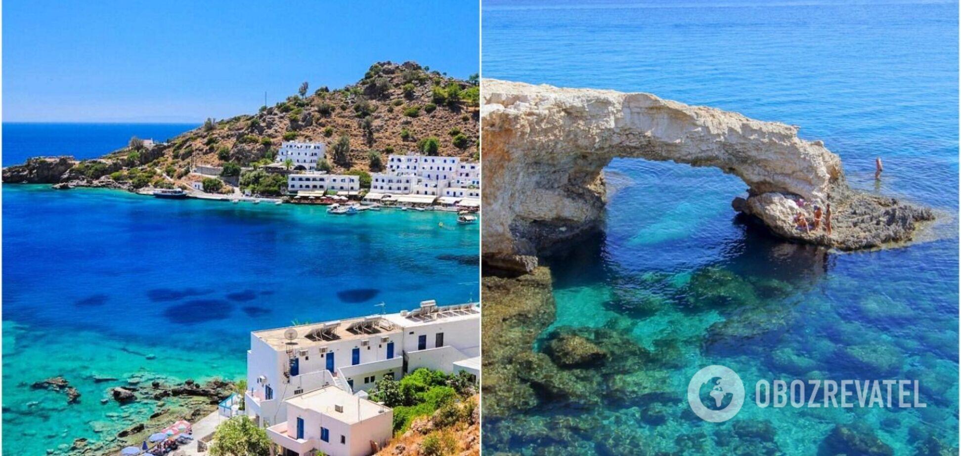 Кіпр чи Греція: порівняння цін, пляжів і визначних пам'яток