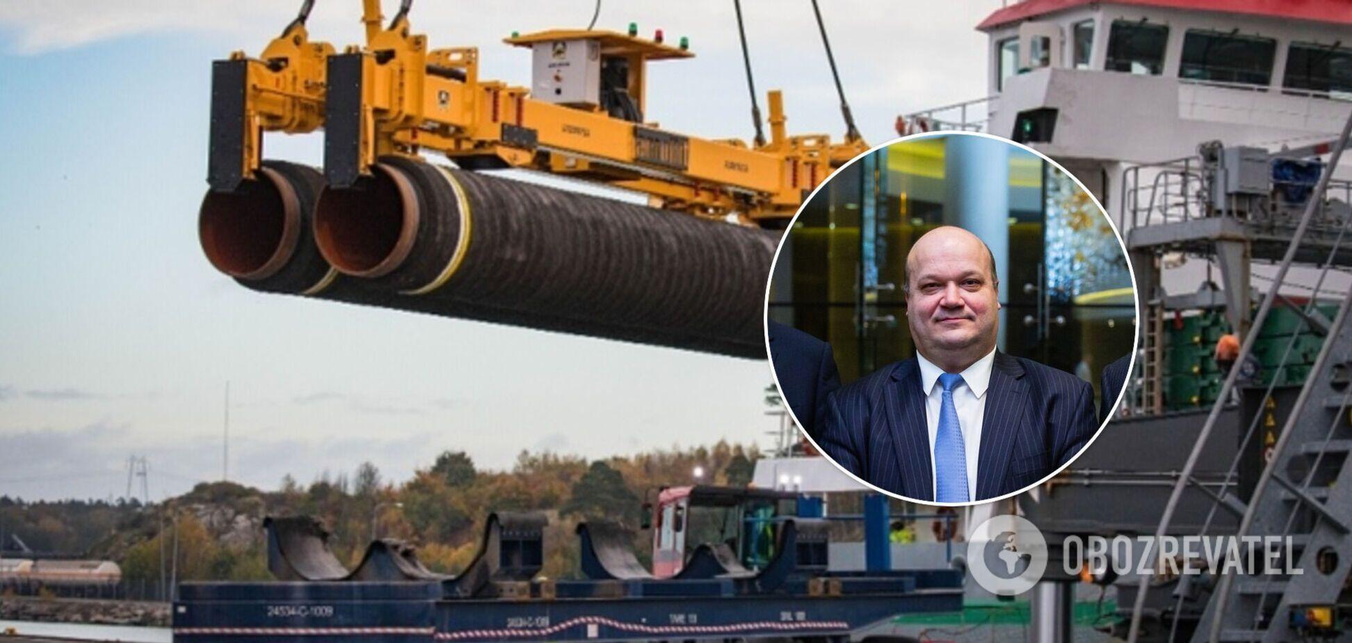 Экс-посол в США заявил, что Украина должна бороться за остановку 'Северного потока-2'