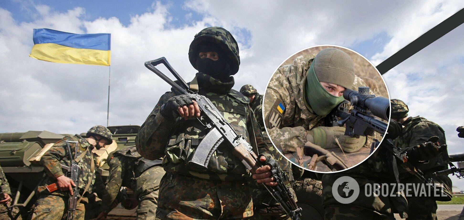С фронта на Донбассе вывели большинство контрснайперских подразделений, – Бутусов
