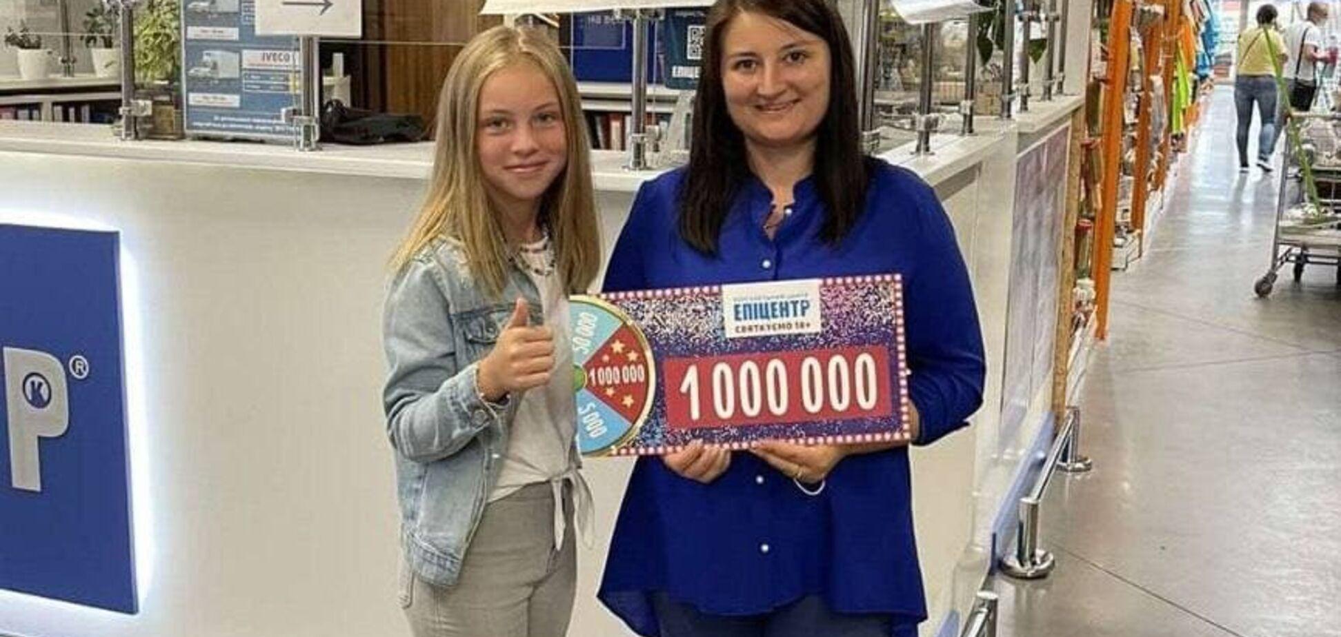 Женщина, которая выиграла миллион в 'Эпицентре' на Львовщине, рассказала о заветной мечте
