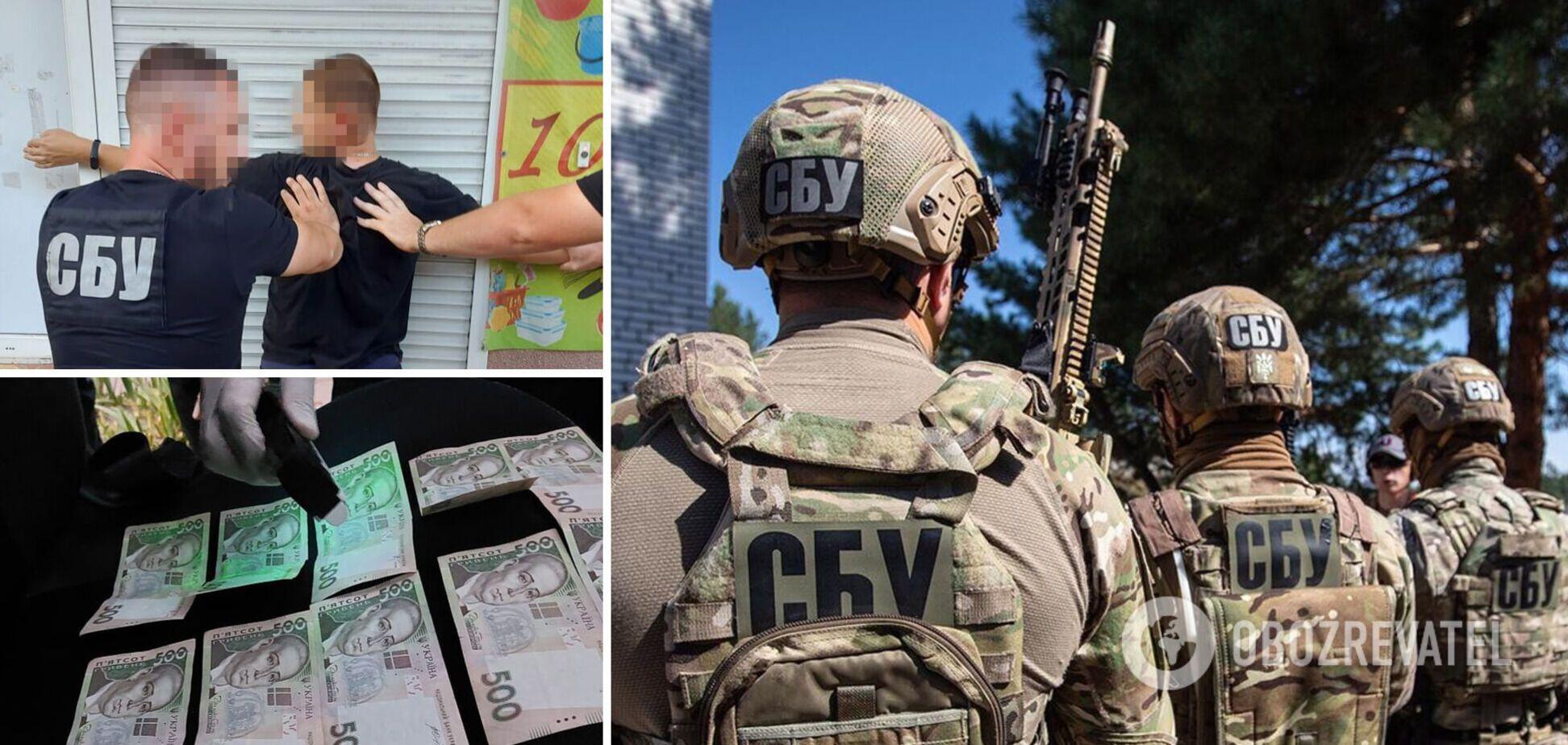 СБУ разоблачила чиновника, который требовал 'откаты' за премии военным в зоне ООС. Фото