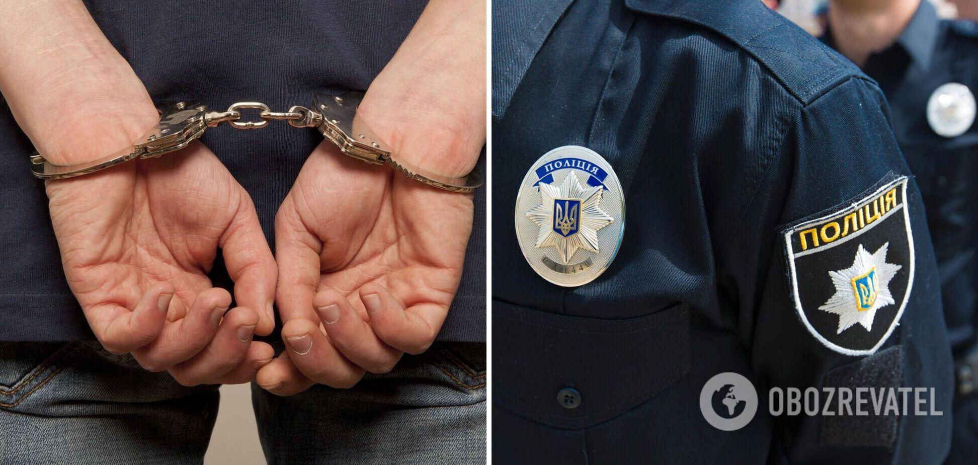 В Одесі чоловік побив поліцейського через те, що той не забрав його сестру в СІЗО