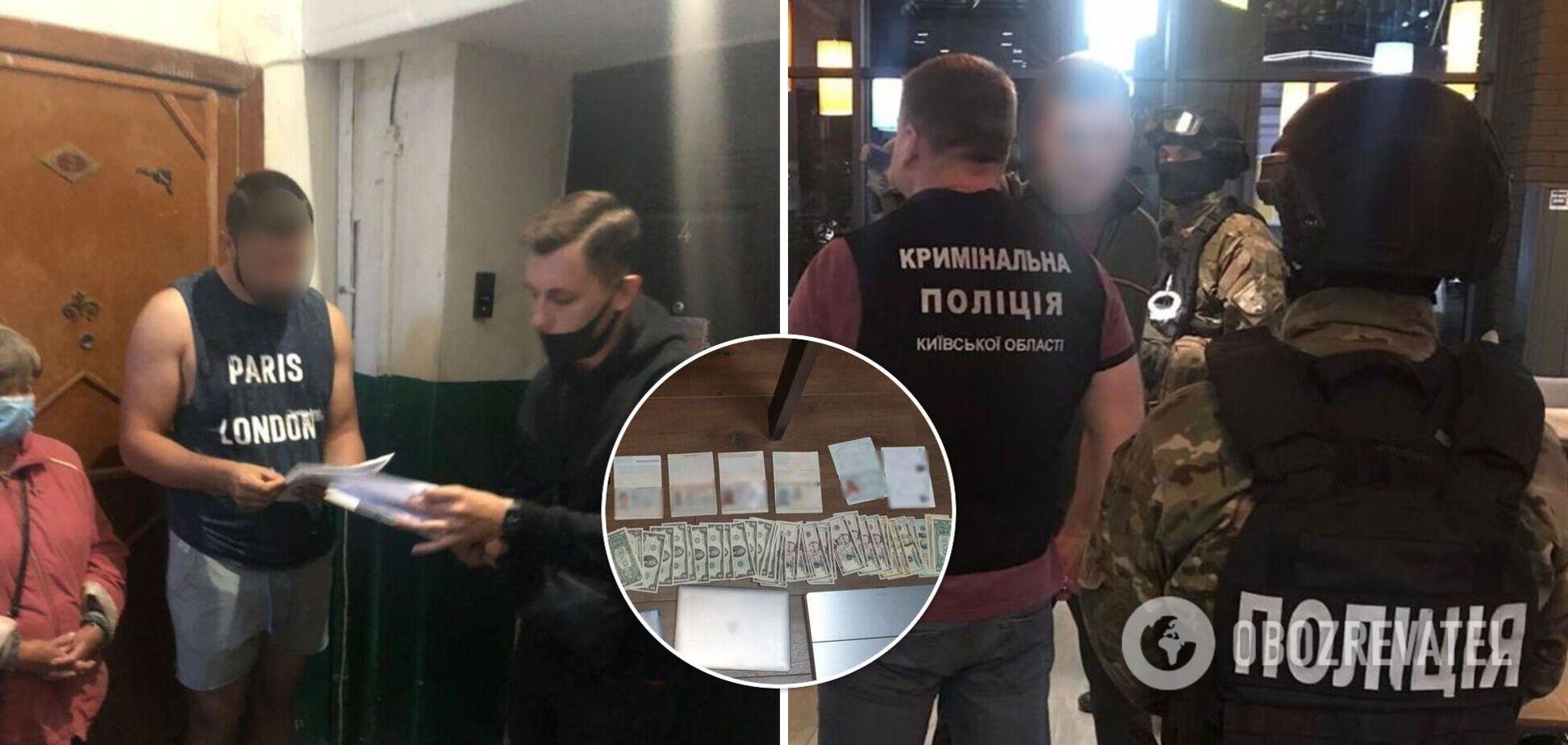 Зловмисники продавали візи через офіційні сайти