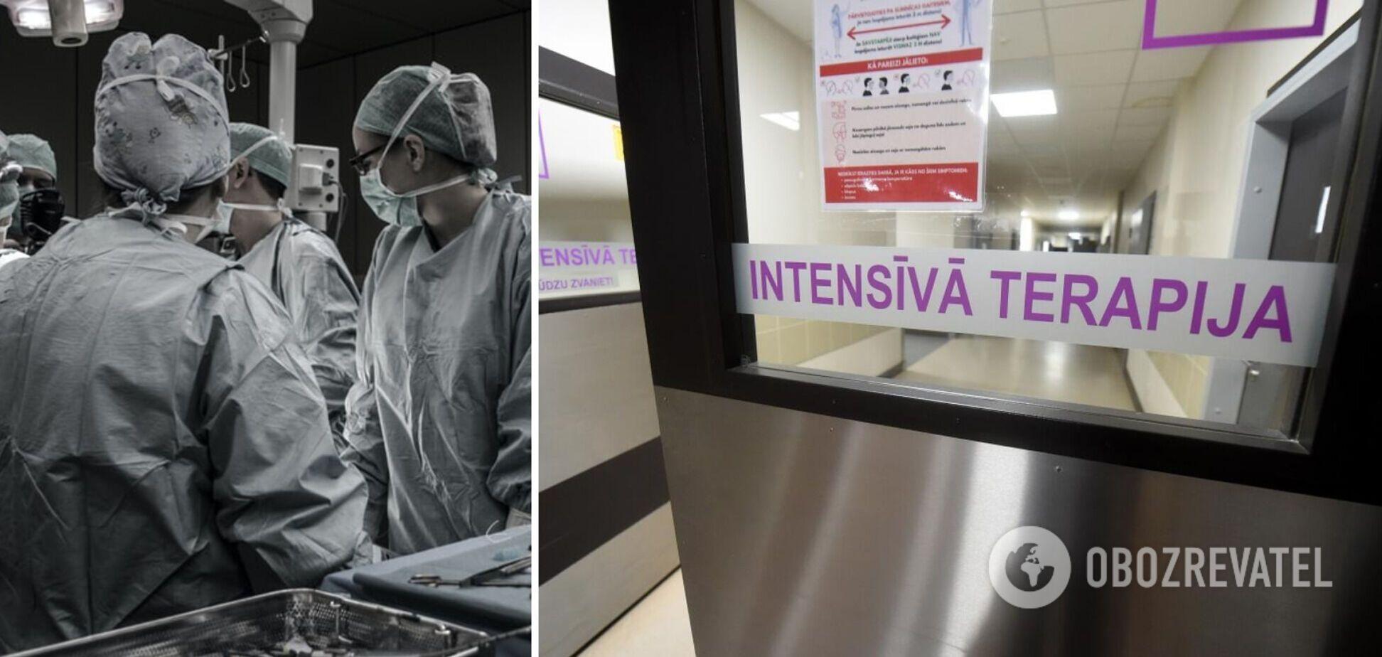 У Латвії врятували пацієнта з COVID-19 зі стовідсотковим ураженням легень