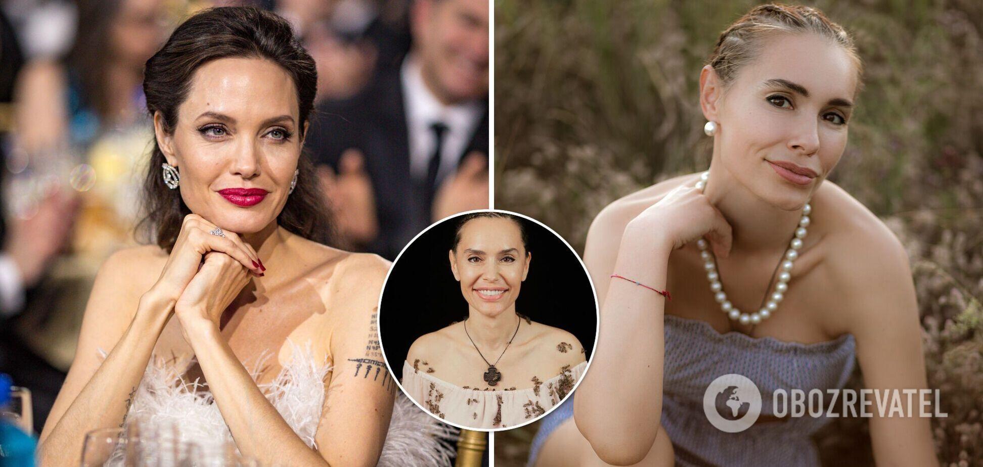 Дочка Ющенка повторила зйомку Анджеліни Джолі з роєм бджіл на тілі. Фото і відео