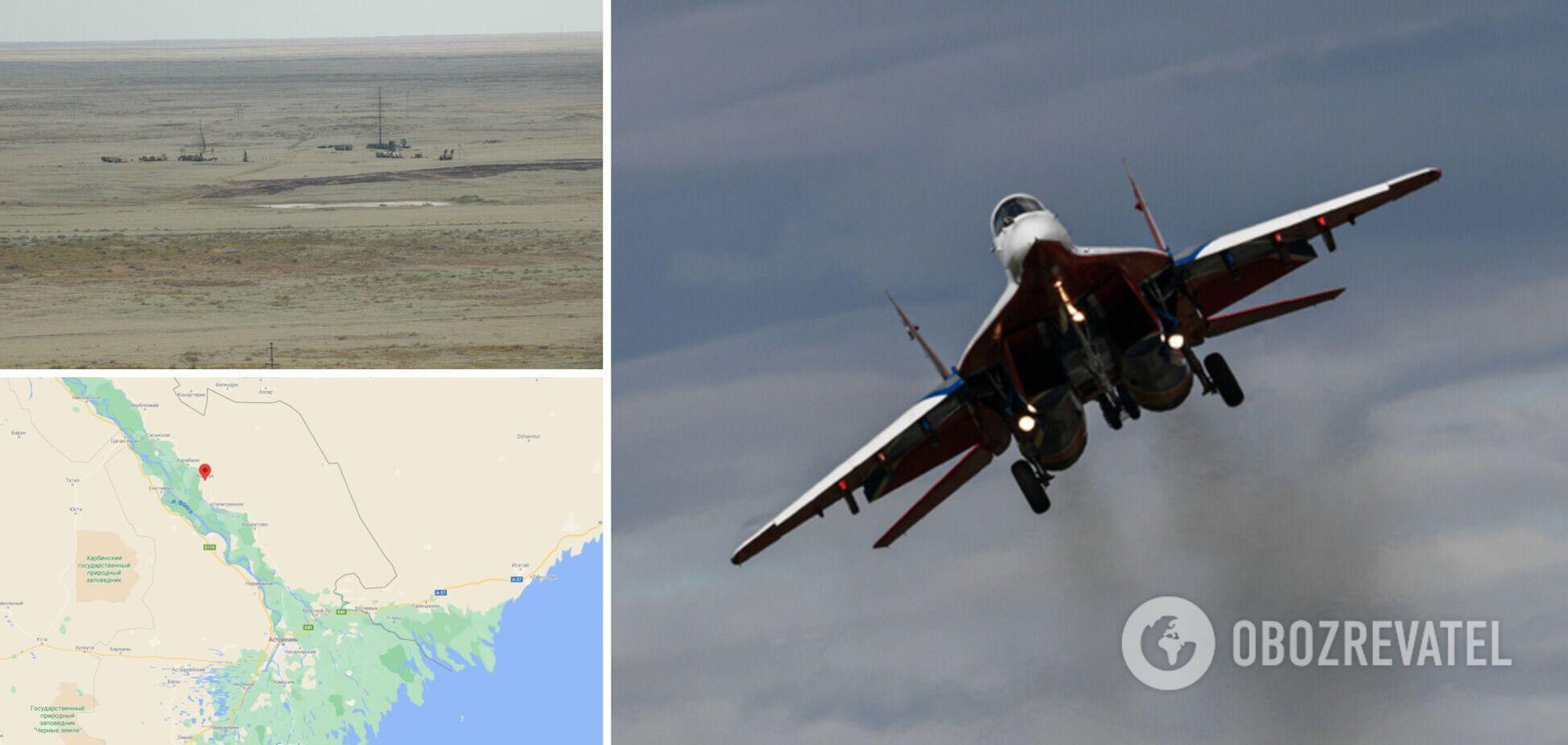 У Росії впав винищувач МіГ-29, є загиблий