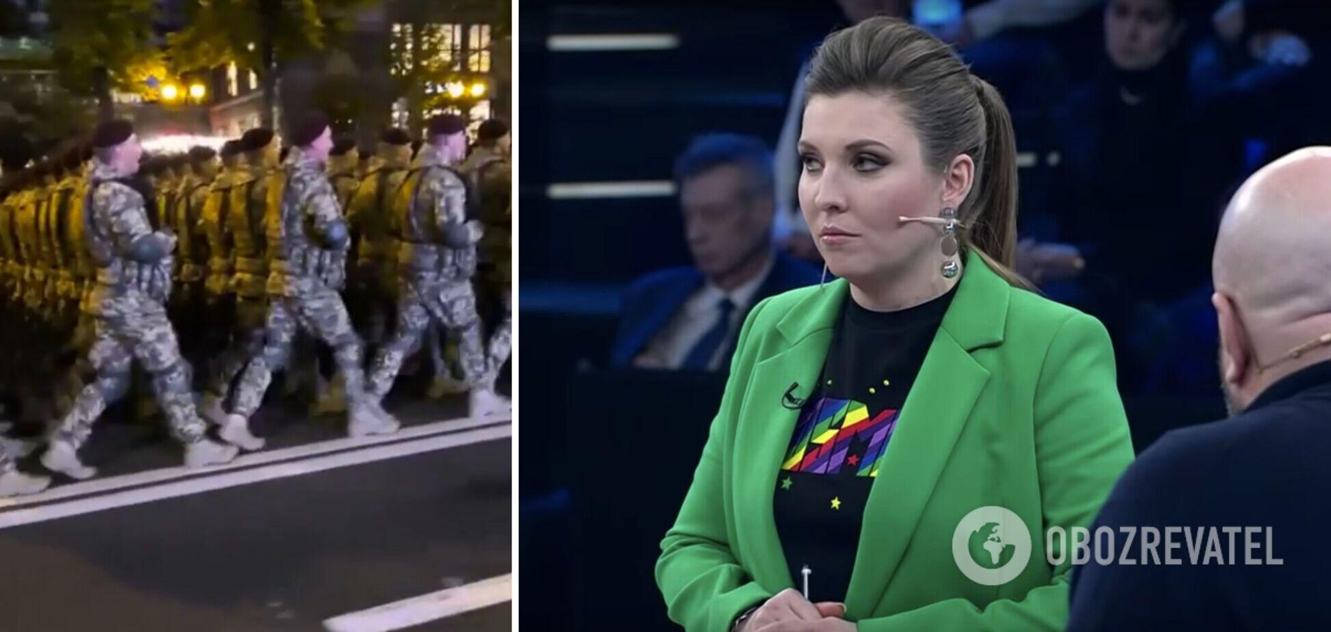 Скабєєва прокоментувала пісню українських військових про Путіна