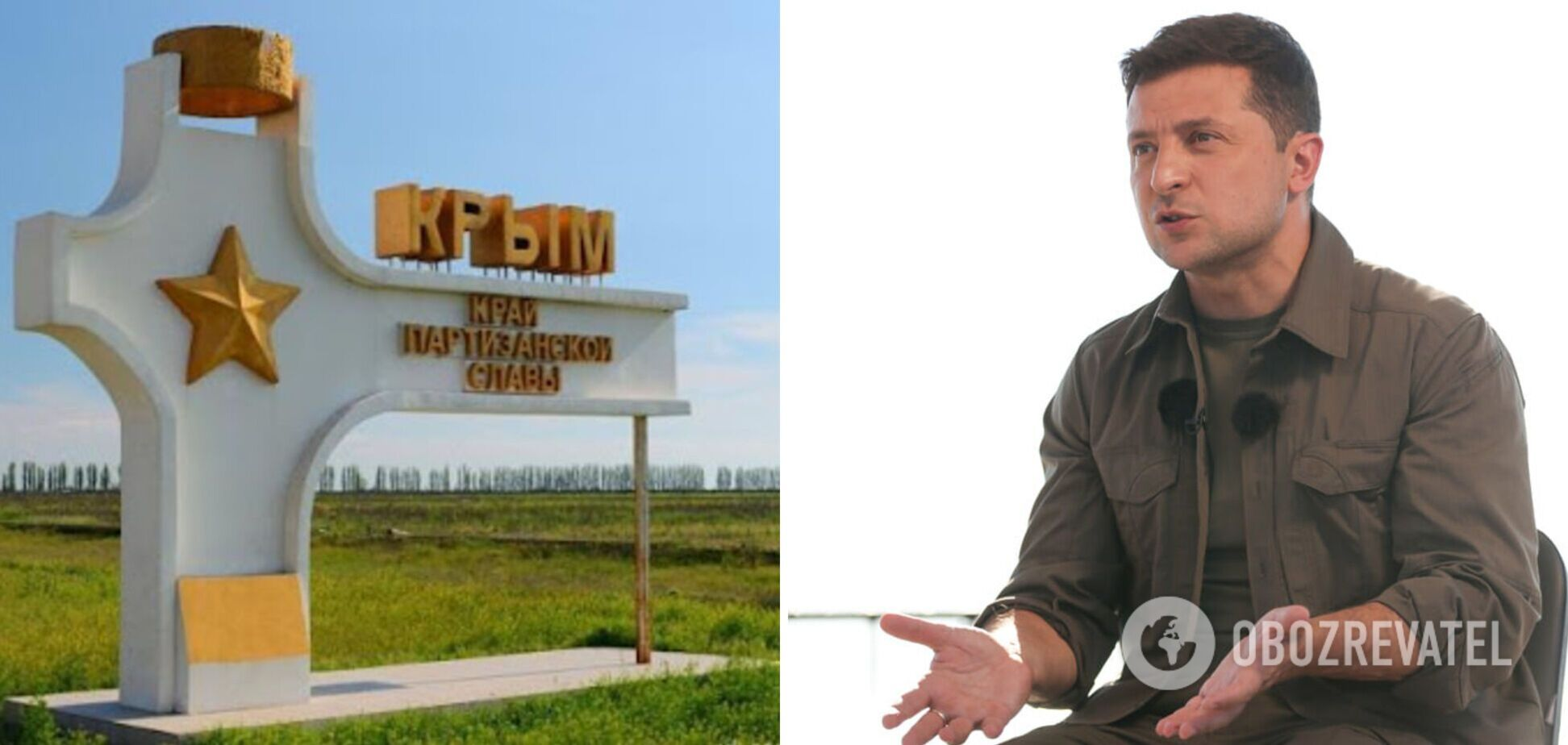 Зеленский о будущем Крыма: нужно бить в колокола, это уже не жемчужина у моря, а авианосец
