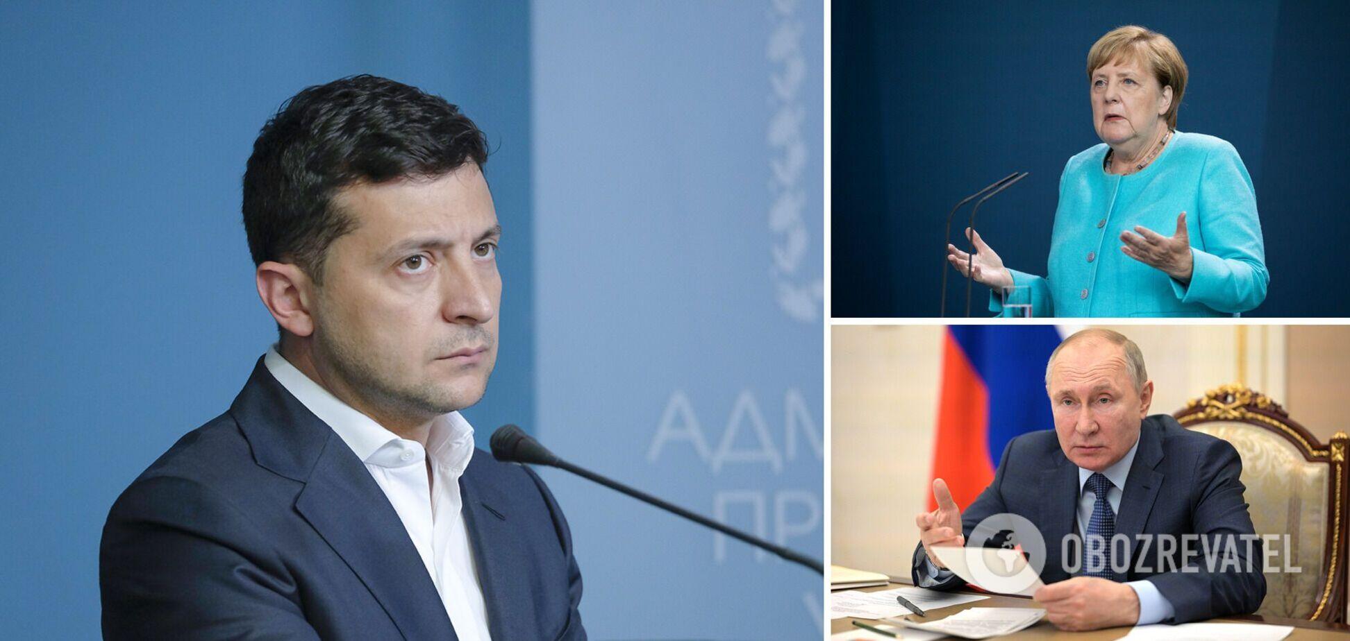 Зеленський – про візит Меркель: на подарунки не чекаю, але гарантії Україні можуть бути