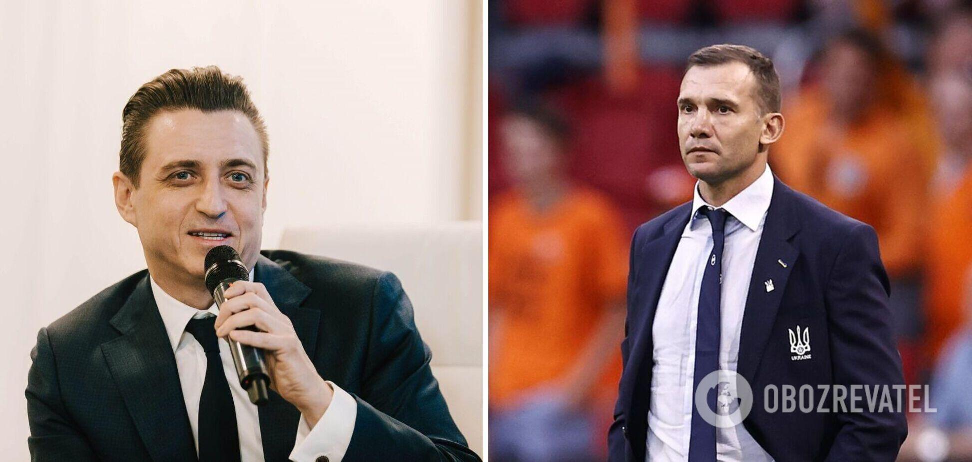 Александр Денисов и Андрей Шевченко
