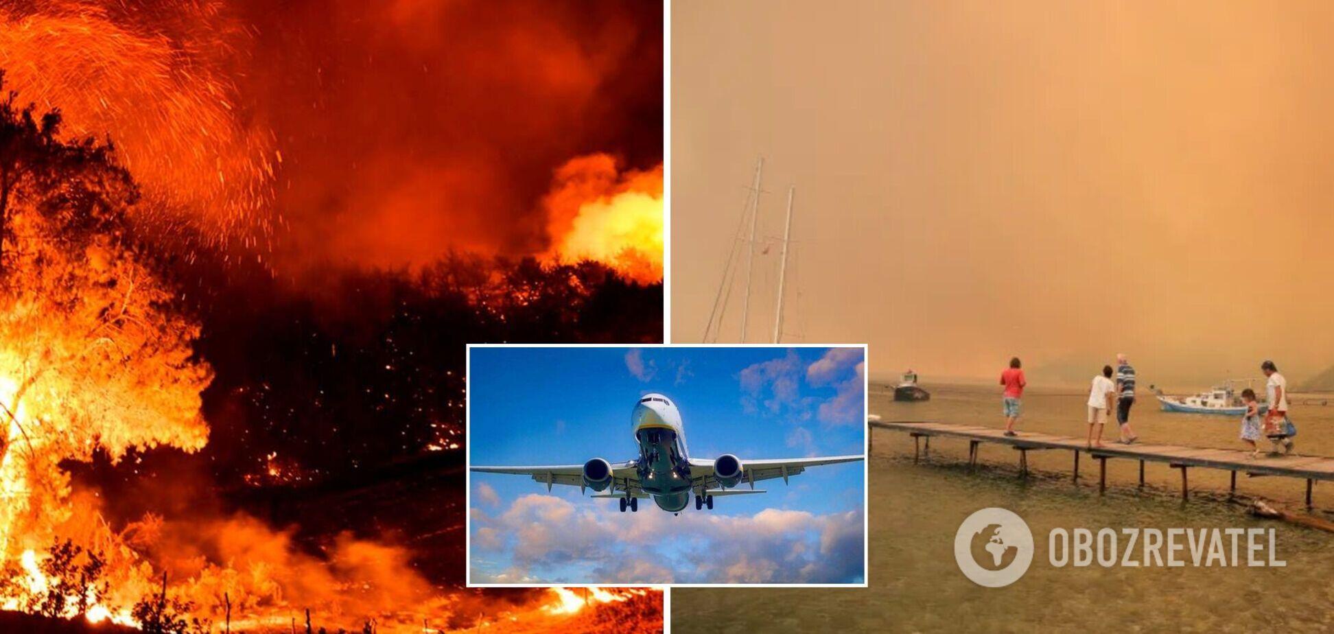 Пожары в Турции: эксперты рассказали, вернут ли деньги украинцам за путевки